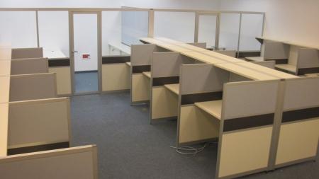עמדות עבודה Open Space וסגירת משרדים