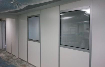 קירות לחדרים נקיים