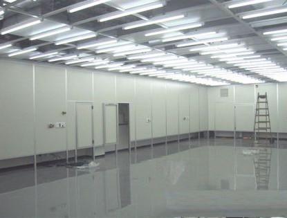 חדר נקי במפעל שבבים