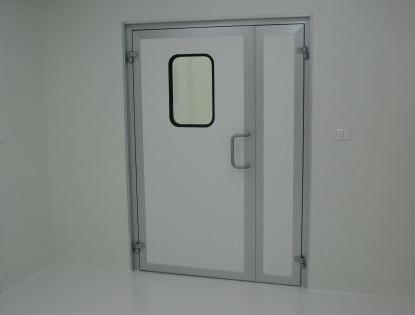 דלת פארמה דו כנפית GMP