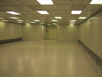 פרויקט קידר תקרה בחדר נקי