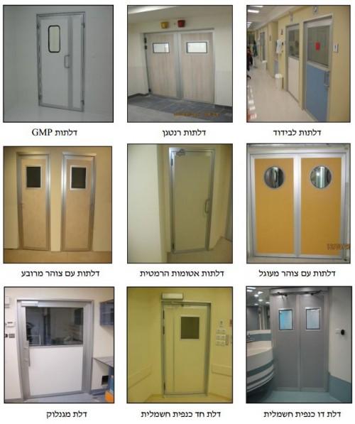 סוגי דלתות