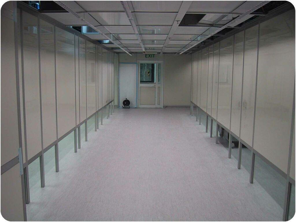חיפוי קירות חדר נקי