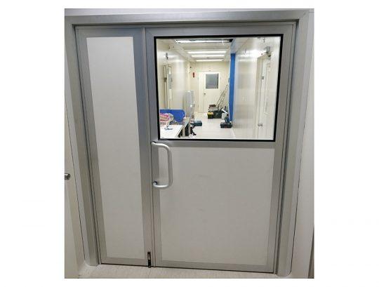 דלת דו כנפית אוטמת למעבדה