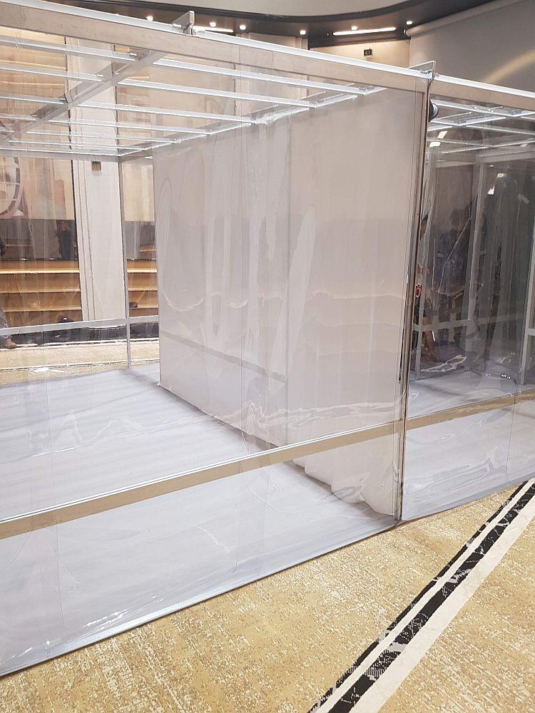 אוהל נקי מאלומיניום