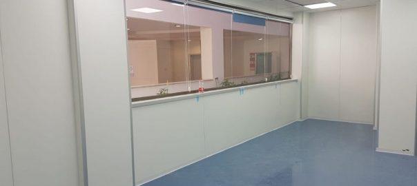 חלונות לחדר נקי