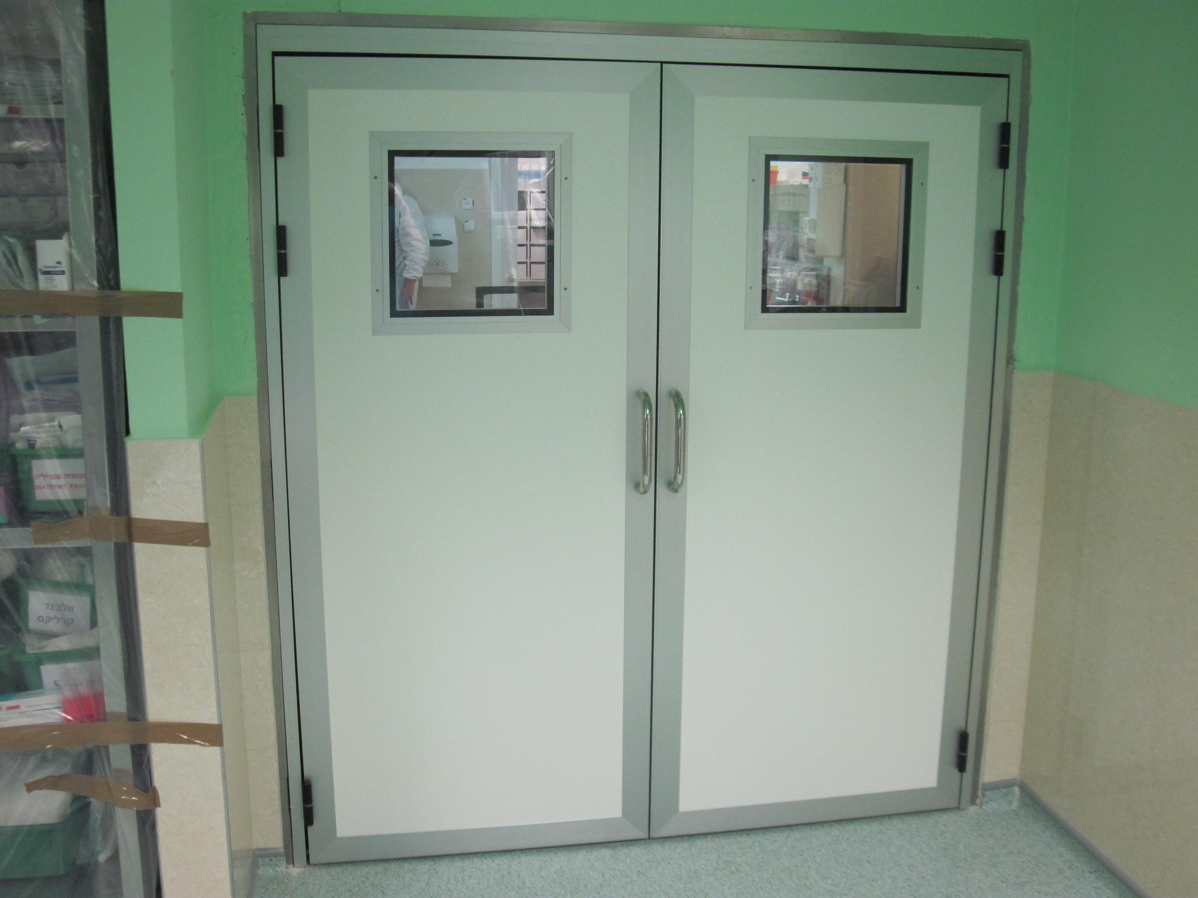 דלתות חדרי ניתוח - אחרי