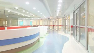 מחלקת ילדים בבית חולים