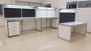 שולחנות מעבדה מאלומיניום