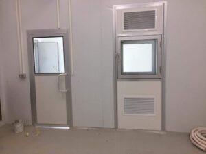 דלתות לחדרי מעבדה