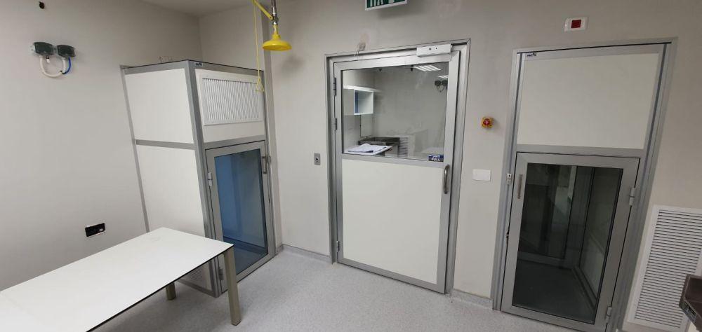 חדר נקי למעבדת קורונה