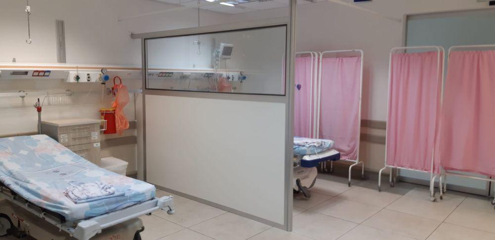 מחיצות הפרדה בבתי חולים