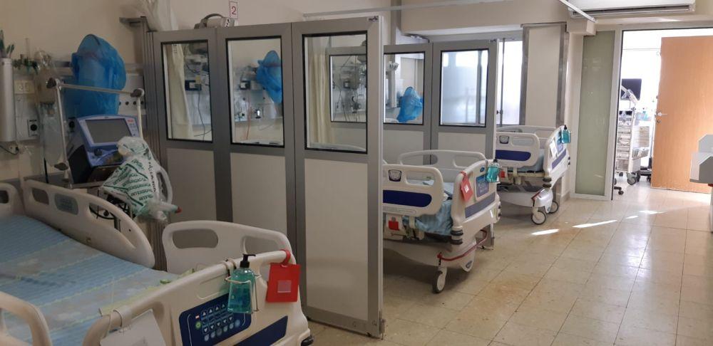 מחיצות הפרדה לבתי חולים