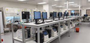 שולחנות מעבדה אלומיניום