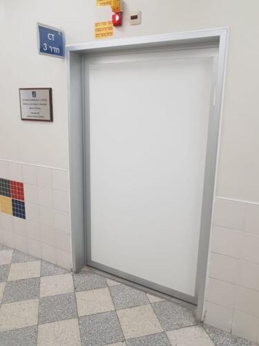 דלת לחדר CT