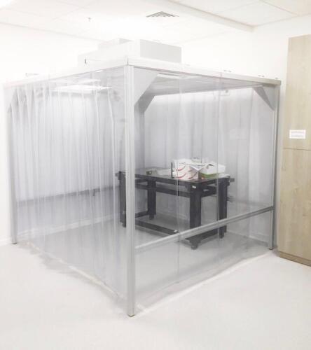 אוהל נקי יריעות PVC
